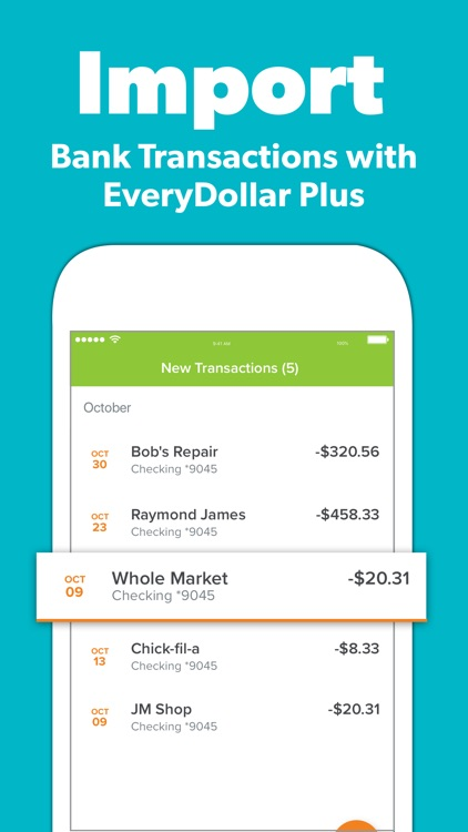 EveryDollar Easy Budgeting App screenshot-8