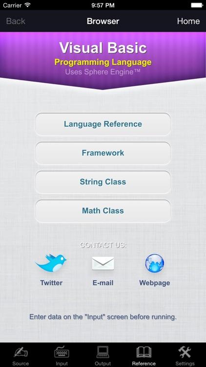 Visual Basic Language screenshot-3