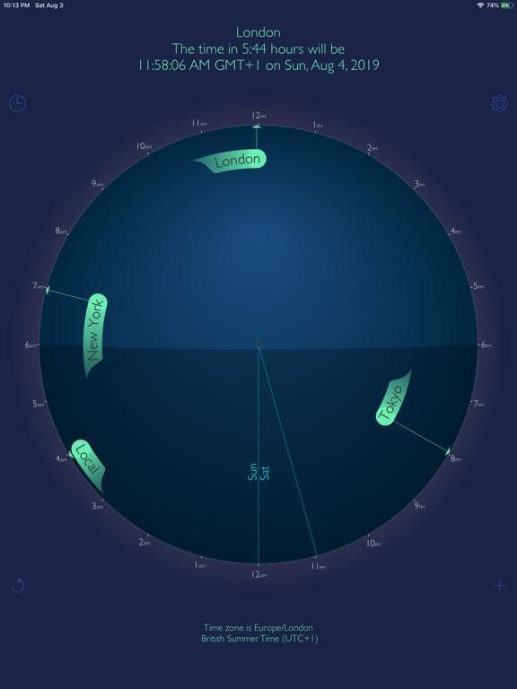 World Travel Clock Screenshots