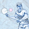 Table Tennis On Paper