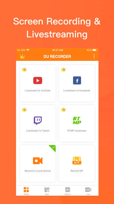 DU Recorder - Screen Recorder Screenshot