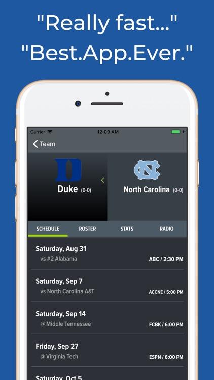 North Carolina Football screenshot-8