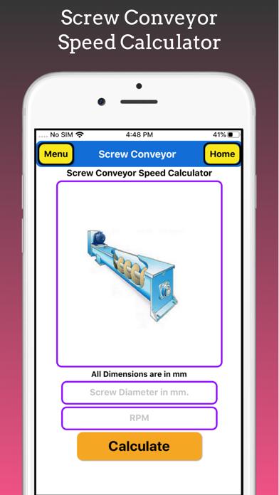 Screw Conveyor Pro screenshot 3