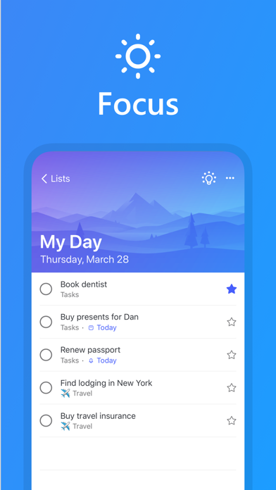 Microsoft To-Do screenshot 4