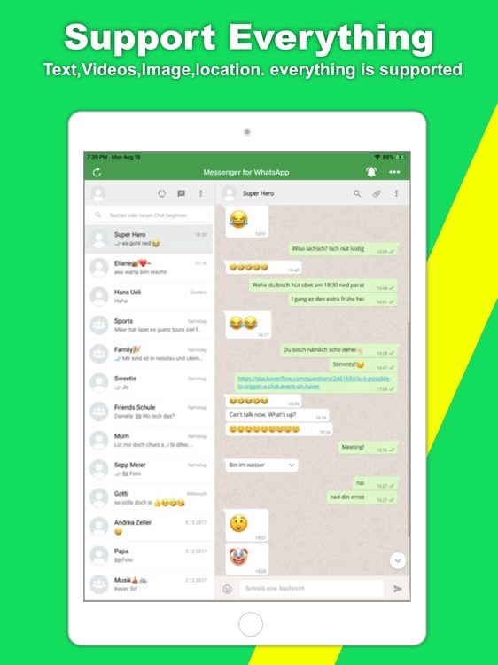 Messenger for WhatsApp ++