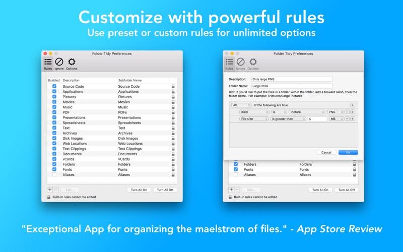 文件整理 Folder Tidy for Mac
