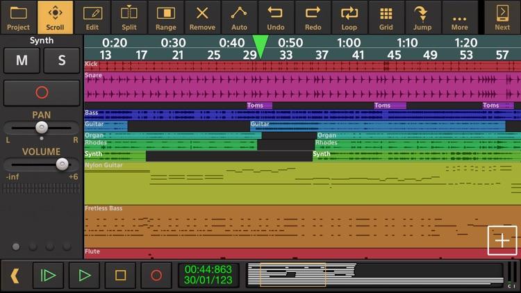 Audio Evolution Mobile Studio screenshot-0