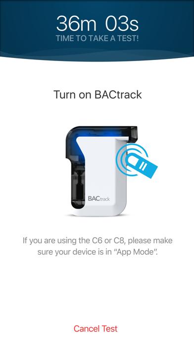 BACtrack View 2 Screenshot