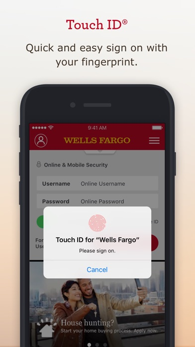 Wells Fargo Mobile by Wells Fargo (iOS, United States) - SearchMan