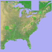 Scenic Map Eastern Usa app review