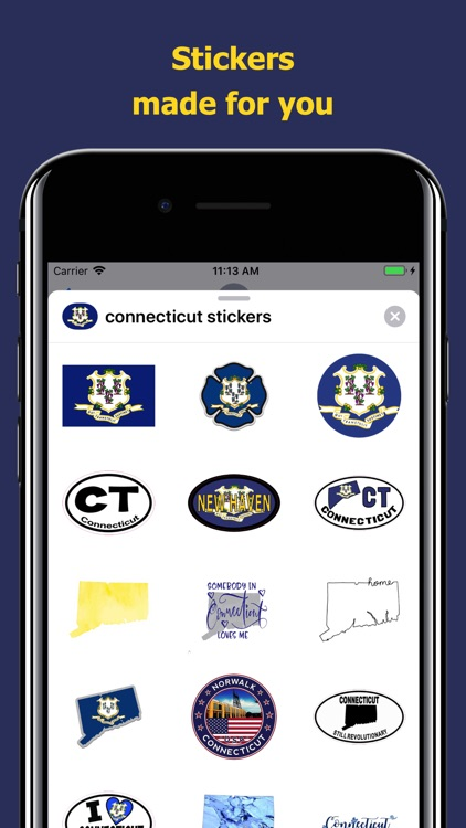 Connecticut emojis - USA moji