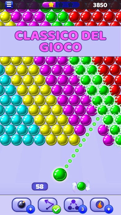 Screenshot of Bubble Shooter - Sparabolle1