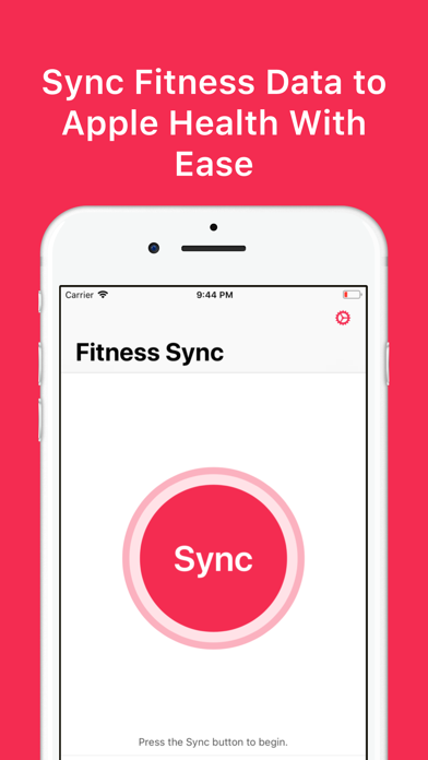 Fitness Sync Fitbit to Healthのおすすめ画像1