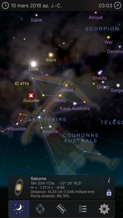 Screenshot Astro 3D+: Étoiles Ciel