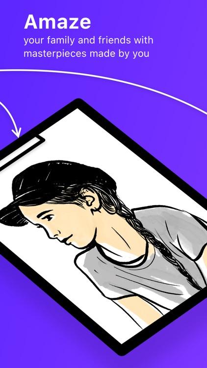SketchAR: learn how to draw screenshot-5
