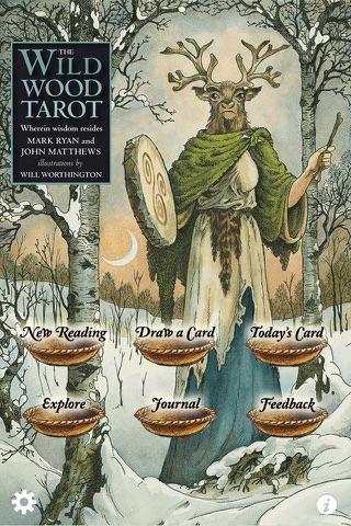 Wildwood Tarot - náhled