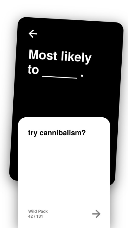 Most Likely To: Party Cards screenshot-3