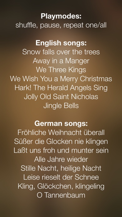 Screenshots for Christmas Music - Preview