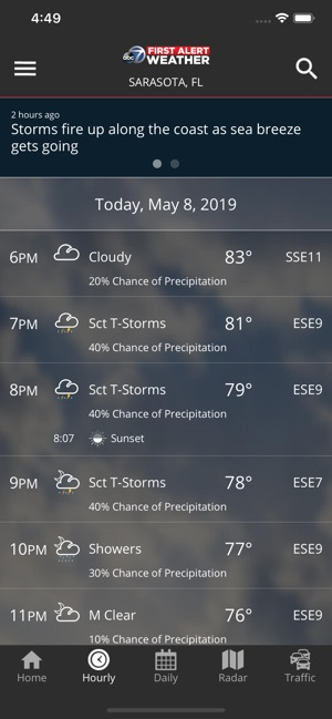 ABC7 WWSB First Alert Weather on the App Store