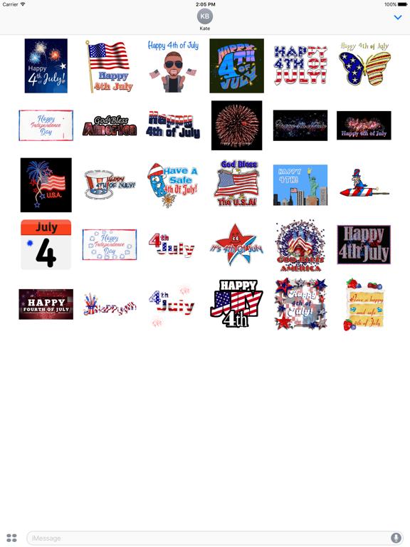 Happy Independence Day Sticker screenshot 5