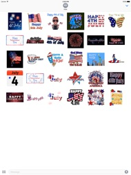 Happy Independence Day Sticker ipad images