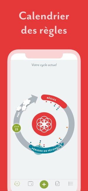 Calendrier Pour Les Regles.Clue Calendrier Des Regles Dans L App Store