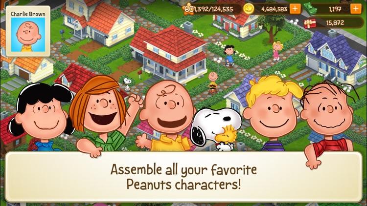 Peanuts: Snoopy Town Tale screenshot-3