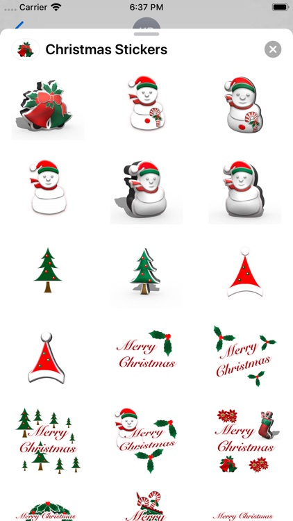 Happy Christmas Stickers screenshot-1