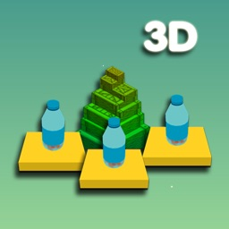 Bottle Flip And Tower Stack 3D