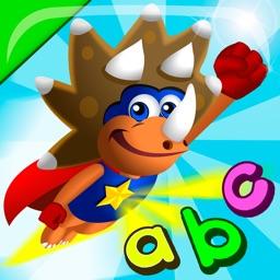 ABC Dinos: Kids read and write