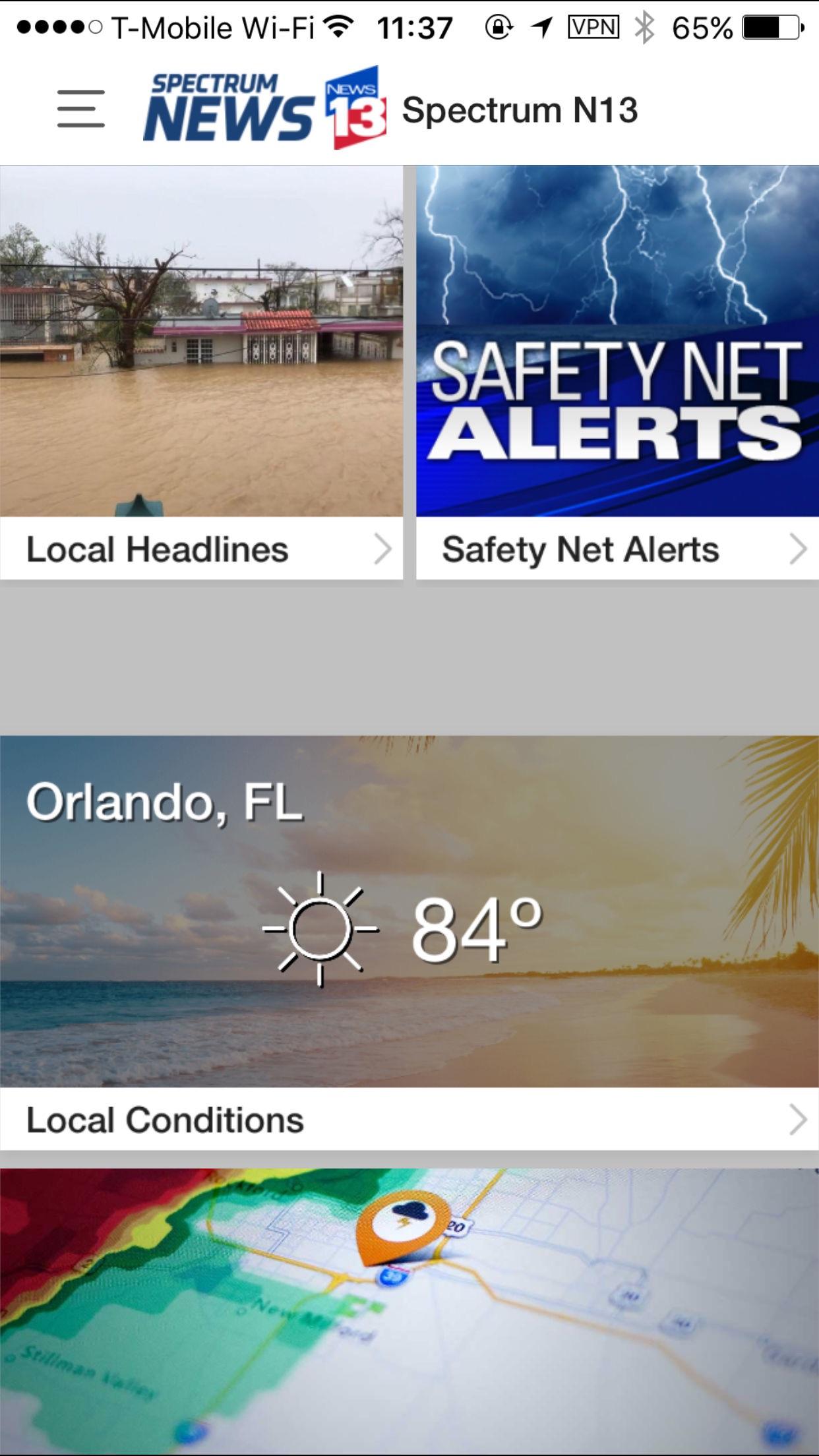 Spectrum News 13 Screenshot