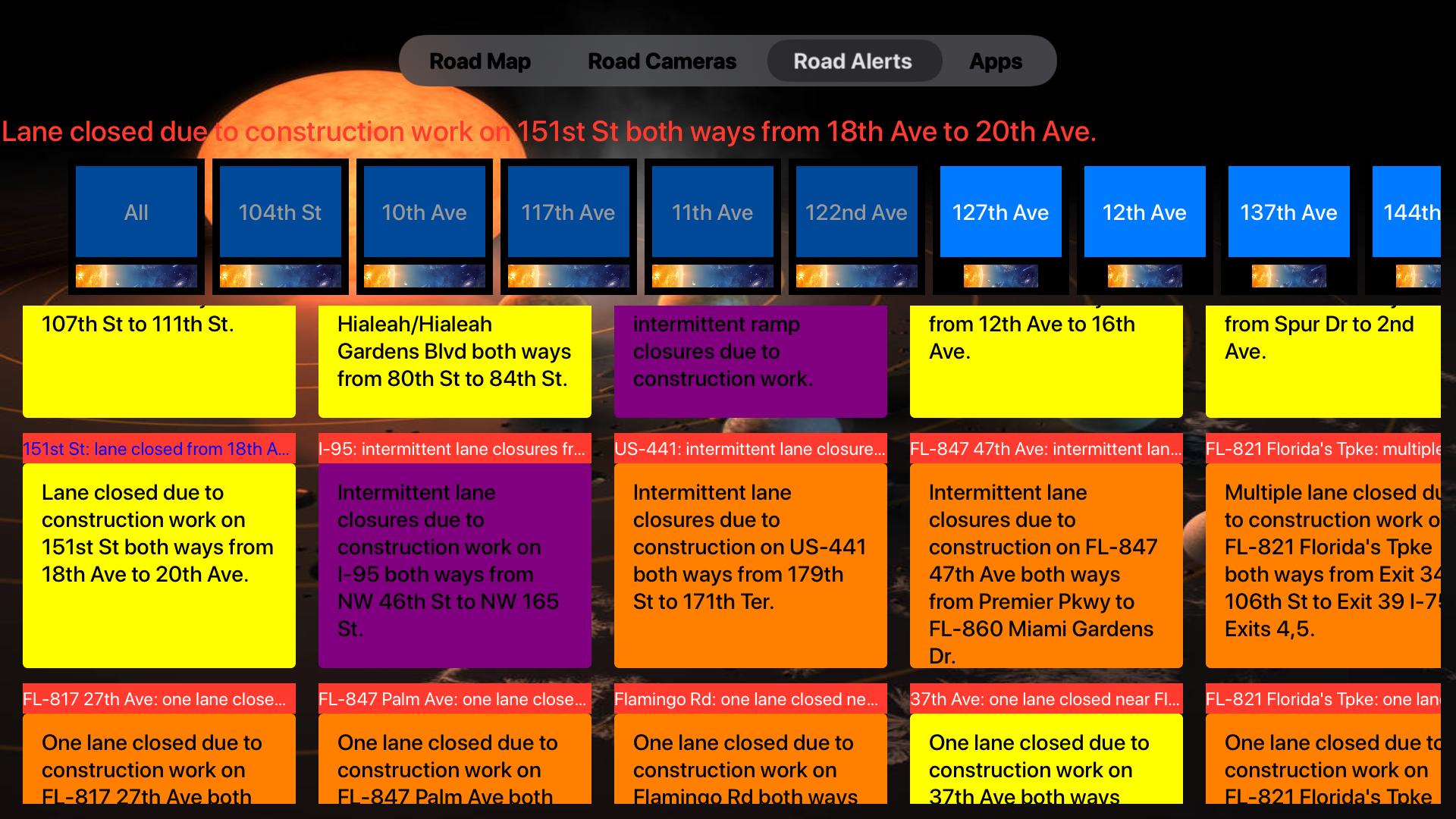Road Conditions Lite screenshot 16