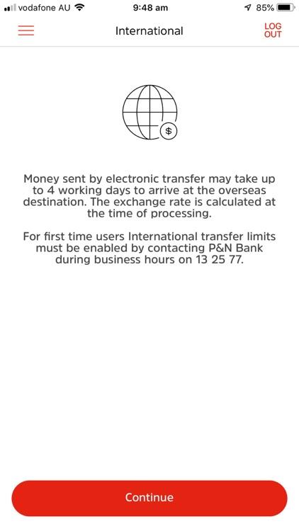 P&N Banking app screenshot-7