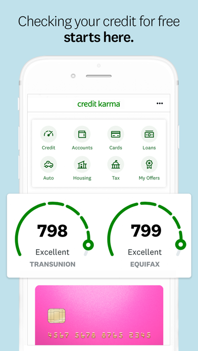 Credit Karma Mobile - Free Credit Score & Credit Monitoring screenshot