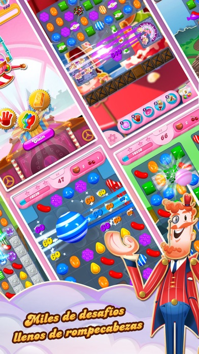 Screenshot for Candy Crush Saga in Argentina App Store