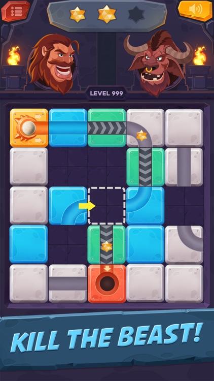 Unblock Ball - Rolling Game screenshot-4
