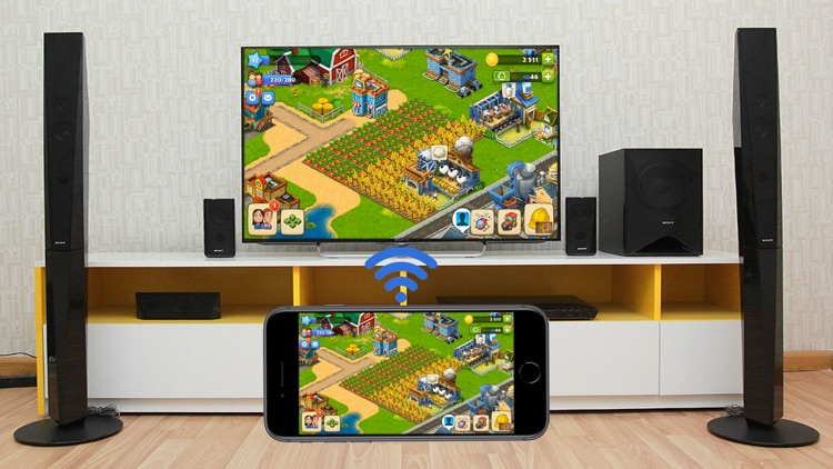 Miracast: Stream for Smart TV+