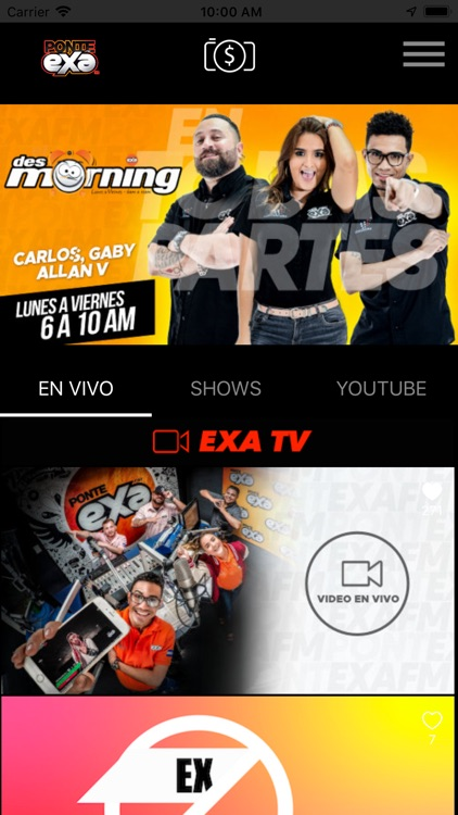 Exa Honduras Radio screenshot-0