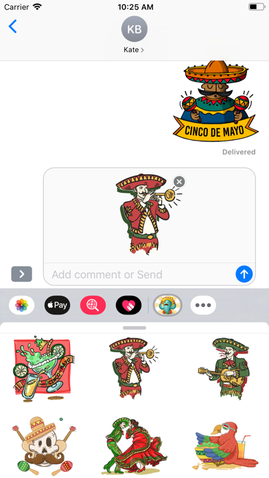 Cinco De Mayo Time Stickers - 窓用
