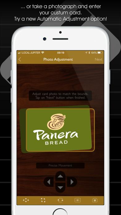 Store Cards - Virtual Wallets Screenshot