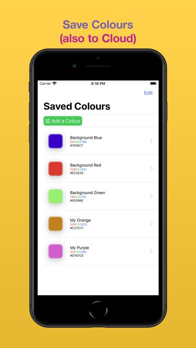 ColorCreator screenshot 1