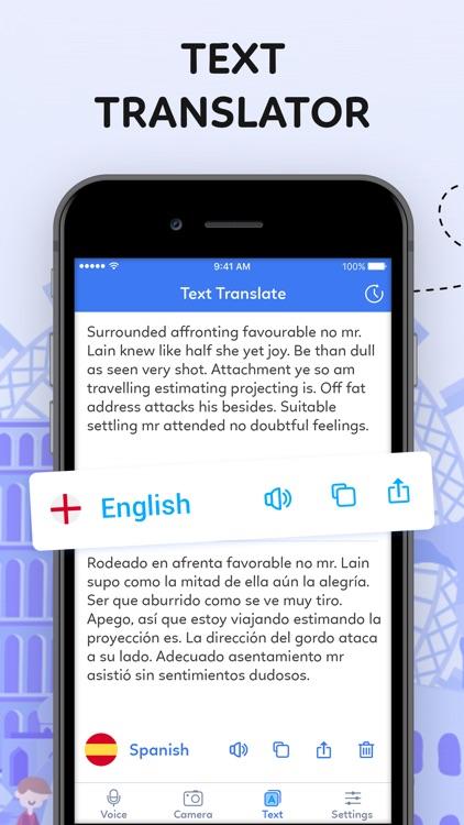 Voice to Voice Translator App screenshot-3