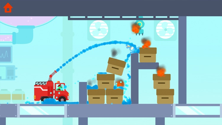 Dinosaur Fire Truck: Kids Game screenshot-9