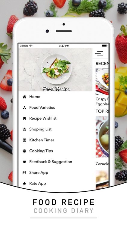 Filipino recipes & foods screenshot-4
