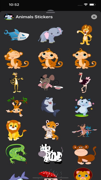Animals Stickers & Emojis screenshot-3