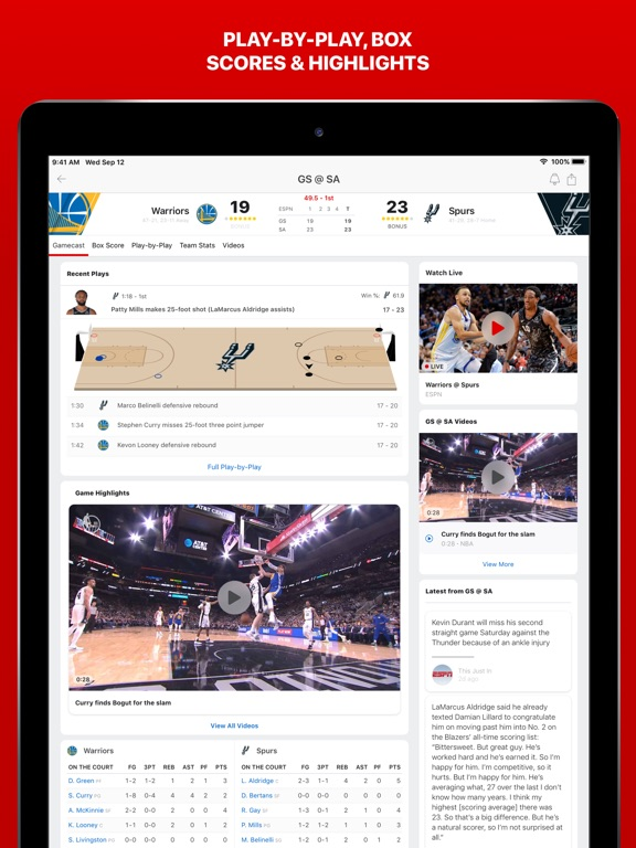 ESPN: Live Sports & Scores-ipad-4
