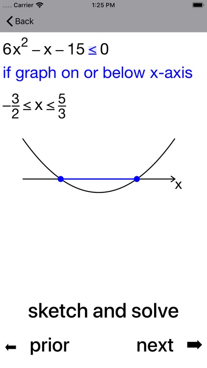 Quadratic Inequalities screenshot-7