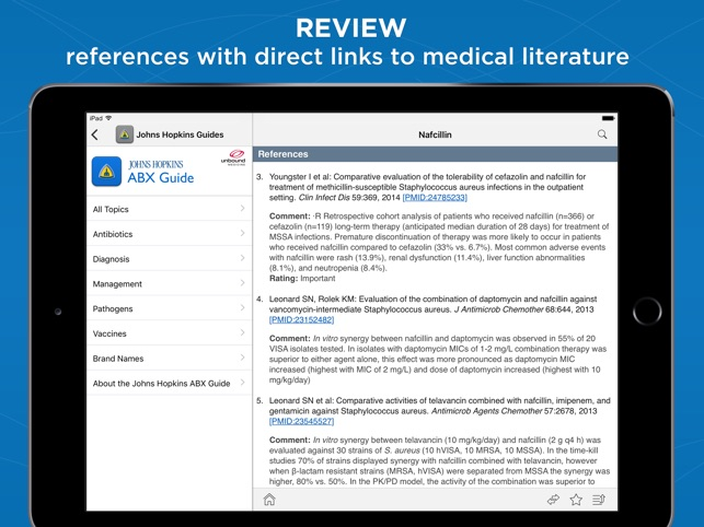 Johns Hopkins Antibiotic Guide on the App Store