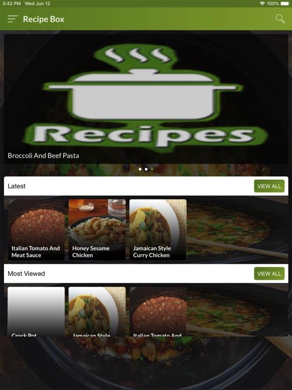 Crock Pot Recipes Easy screenshot #1