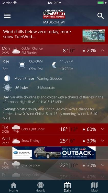 Channel3000 Weather & Traffic screenshot-4